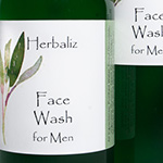 Face Wash for Men-skin care products Alabama, men's, body care products for men, facial, face, sensitive, totally natural toxin-free skin care men, nontoxic safe healthy organic body care for men, chemical-free, paleo cleanser