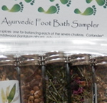 Sampler - Ayurvedic Foot Baths-ayurveda, ayurvedic, foot bath, pitta, vata, kapha, chakra, feet, foot care