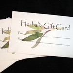 Gift Cards-gift cards, giftcards, herbal, birthday, Father's Day, Christmas, Mother's Day, Valentine's Day, holiday