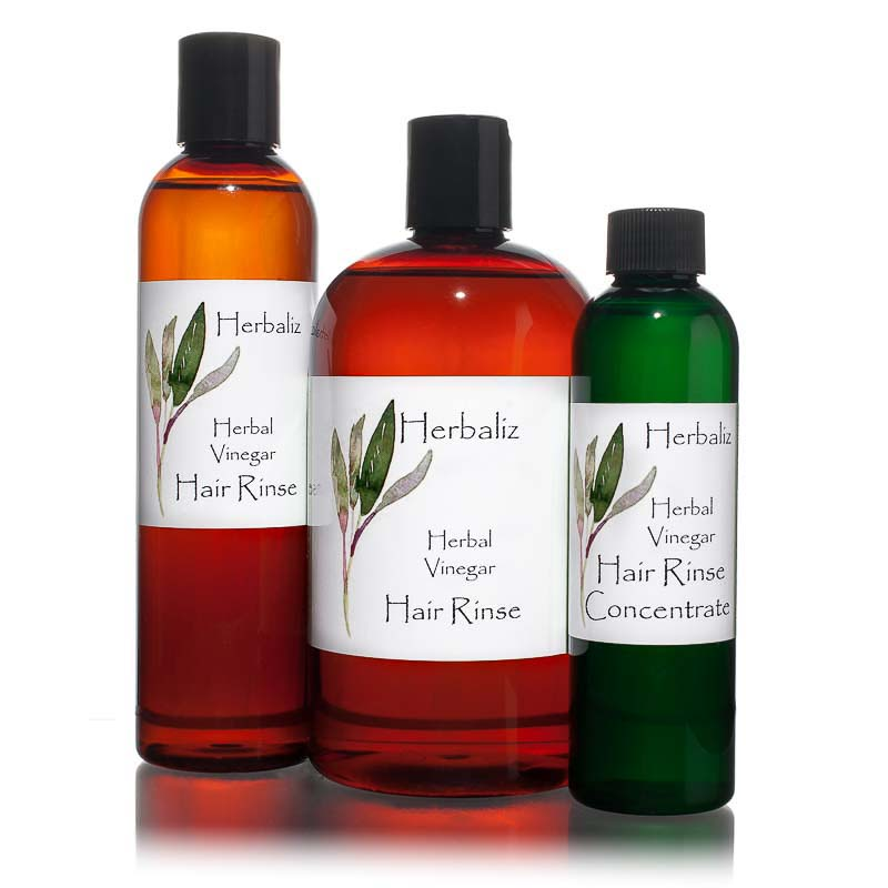 Herbal Vinegar Hair Rinse-hair rinse, conditioner, organic natural, Natural Organic Hair Care Products, anti-dandruff, healthy scalp, shiny, smooth