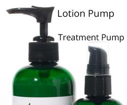 lotion pump vs treatment pump