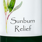 Sunburn Relief-sunburn, sun, itchy, peeling skin, tan
