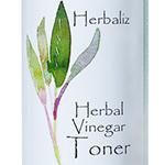 Herbal Vinegar Toner-natural toner, organic toner, mild toner, facial toner, face, anti-aging, oily skin, T-zone